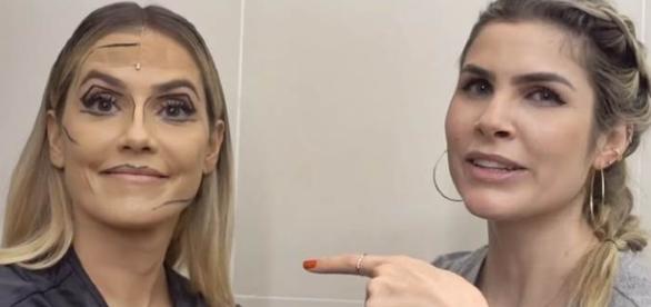 Deborah Secco e Julia Faria/Instagram