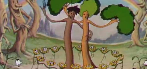 """""""Flores e Árvores"""", a primeira animação colorida a ganhar um Oscar"""