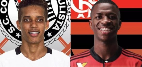 Pedrinho e Vinícius Júnior são as joias das equipes