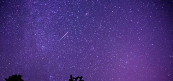 Perseid meteor shower. - Jeffrey Sullivan/Flickr