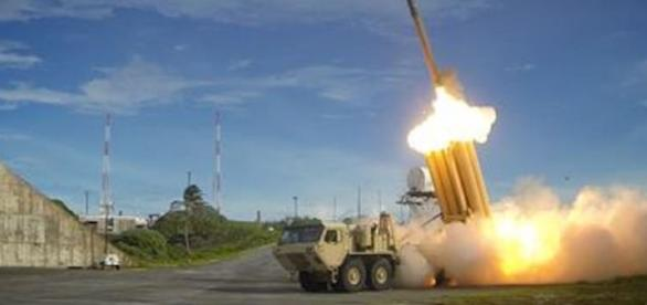U.S. Pacific Command has deployed the first parts of a missile defense system, known as THAAD. Source: Department of Defense