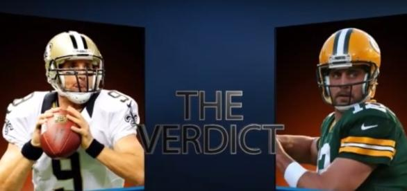 Who's better Aaron Rodgers or Drew Brees? - (Image credit: https://www.youtube.com/watch?v=HesiWvi4NnU)
