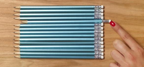 A assimetria e organização por cores é algo típico dos perfeccionistas