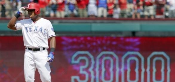 Adrián Beltré es el primer dominicano en alcanzar 3 mil hits. The Star. com.
