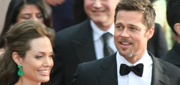 Brad Pitt and Angelina Jolie's battle continues after filing divorce./Photo via Chrisa Hickey, Wikimedia Commons