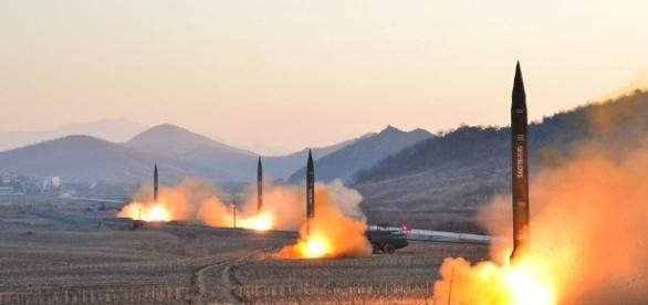 EUA manda bombardeios supersônicos em resposta aos testes norte-coreano (crédito:Google)