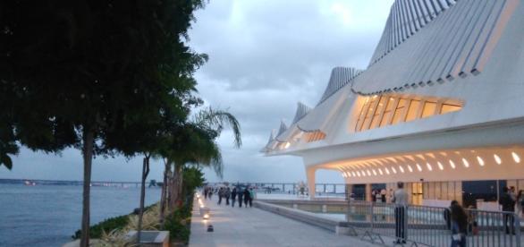 Vista do lado de fora do Museu do Amanhã Rio de Janeiro - Foto: Stephanie Ramos