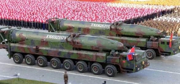 Alcuni dei missili balistici in possesso del regime di Pyongyang
