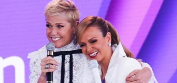 As duas apresentadora têm um bom relacionamento