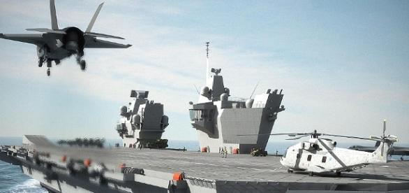 HMS Queen Elizabeth launch could be delayed | Daily Mail Online - dailymail.co.uk