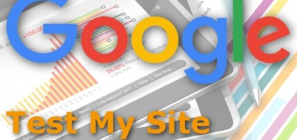 La página web de Test My Site de Google