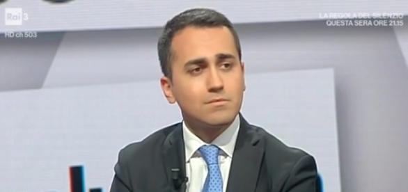 Luigi Di Maio del Movimento 5 Stelle.