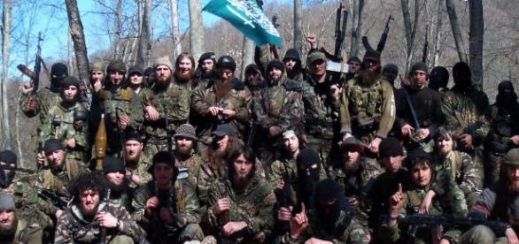 Miliziani jihadisti che hanno combattuto la guerra in Bosnia negli anni '90