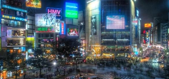 Shibuya Crossing, in Tokyo, is one of the busiest pedestrian ... - pinterest.com