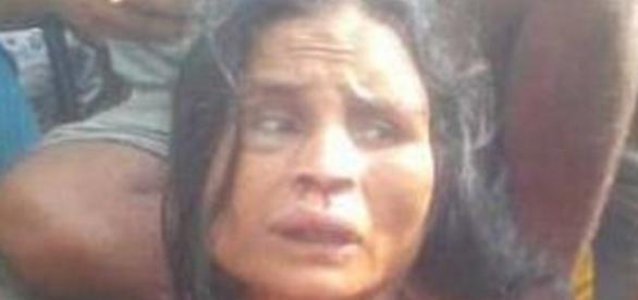 Suspeita de sequestro foi linchada até a morte