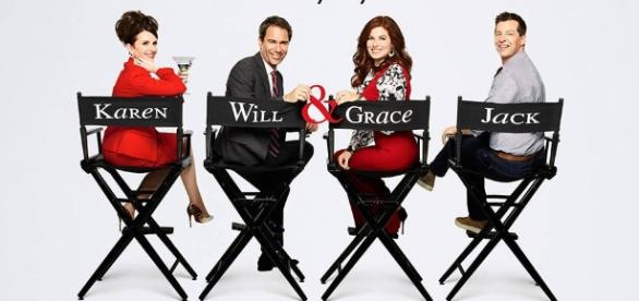 Will & Grace promotional photo for season 9 / from NBC/Universal