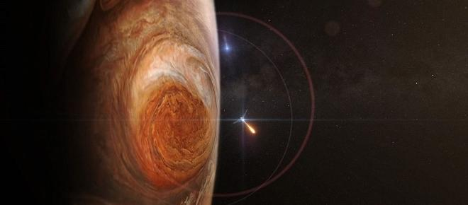First close up at Jupiter´s Red Spot ever