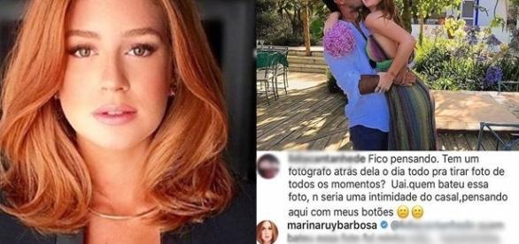 A atriz ainda disse que na vida real as coisas são bem diferentes da TV (Foto: Reprodução/ Instagram)
