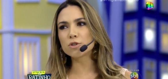 Patrícia Abravanel brigou com produtora do SBT