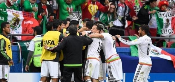 México vs Alemania Copa Confederaciones.