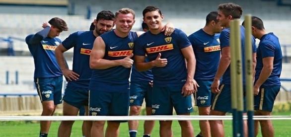 práctica de los Pumas de cara a la próxima temporada