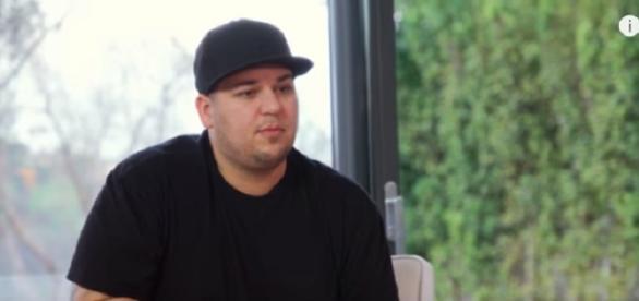 Rob Kardashian speaks out about Blac Chyna. (Image via YouTube screengrab)