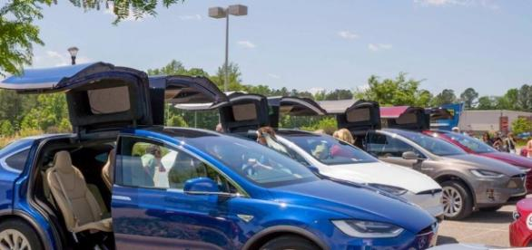 The first Tesla Model 3 unit will be released this week. Source: Tesla Motors Twitter