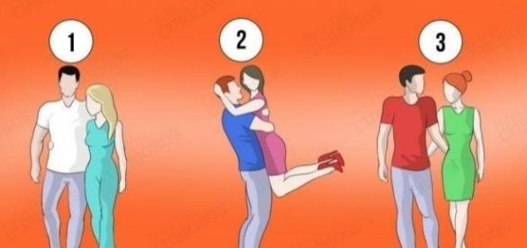 Descubra traços de sua personalidade escolhendo um dos casais acima (Foto: Reprodução)