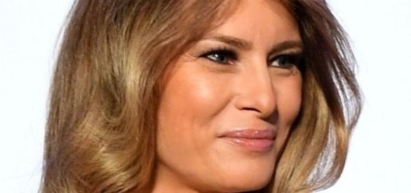 First Lady Melania Trump wears $2,650 flared dress in Warsaw, Poland (Image Credit: Flickr.com)