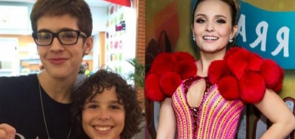 Larissa Manoela e João Guilherme voltam a contracenar depois de término do namoro