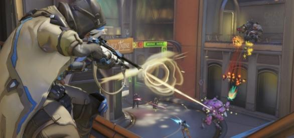 The infamous triple tank meta in 'Overwatch' - (image source/killscreen.com)