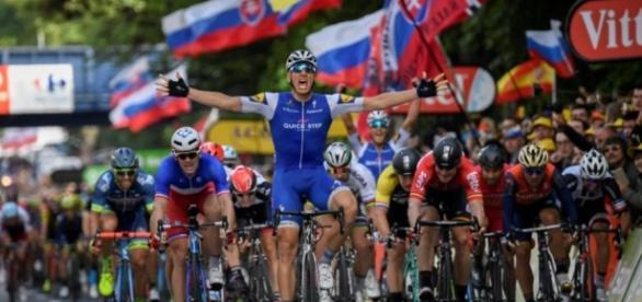 Tour de France: la 2e étape pour Kittel au sprint Thomas toujours ... - liberation.fr