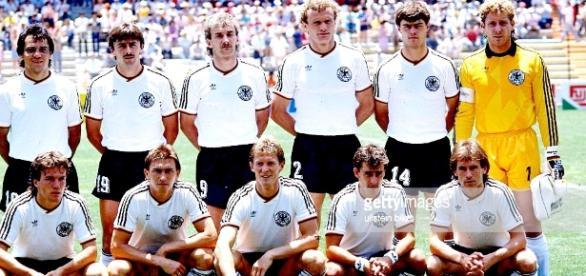 Selección de Alemania Federal en la temporada ... - blogspot.com