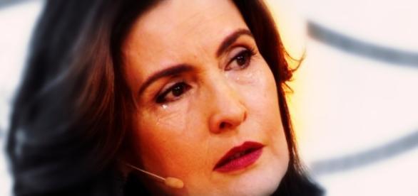 Fátima era jornalista do Jornal Nacional na época e cobriu a tragédia (Foto: Reprodução)