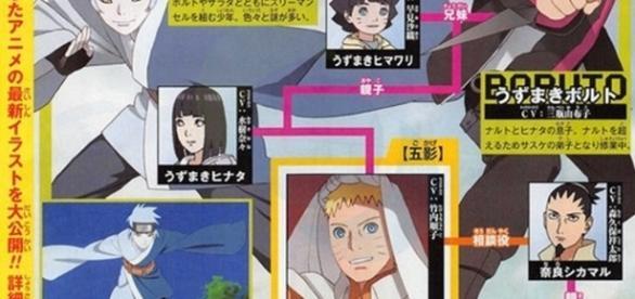 Foto tomada de la revista Shonen Jump