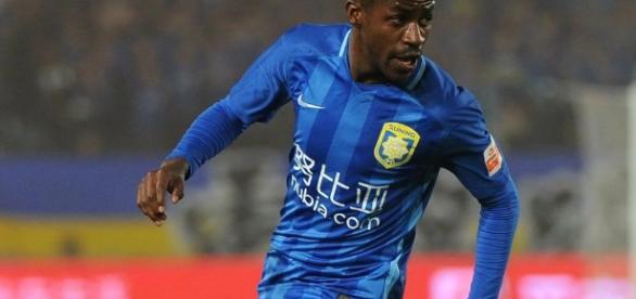 O jogador hoje atua no futebol chinês. ( Foto: Reprodução)