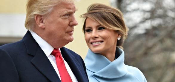 First Lady Melania Trump stuck indoors due to G20 protests in Hamburg.