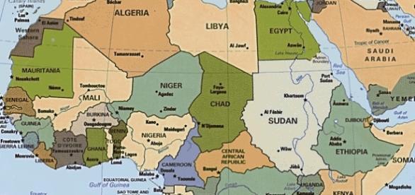 Alcuni dei Paesi del continente africano