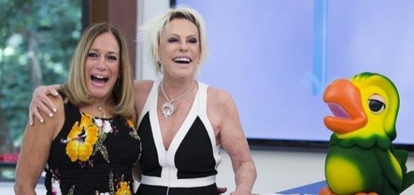 Atriz Suzana Vieira e apresentadora Ana Maria Braga