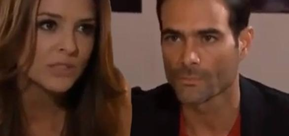 Para se vingar, Maria conta para José Luís que Montserrat está em um hotel com Alessandro