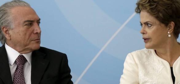 Temer sucedeu Dilma Rousseff no governo