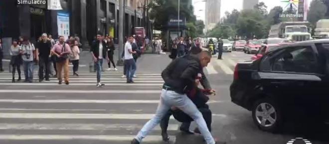 Realizan simulacro de secuestro en la Ciudad de México