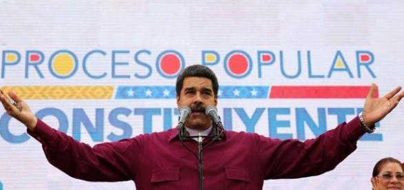 Il Presidente del Venezuela Nicolas Maduro