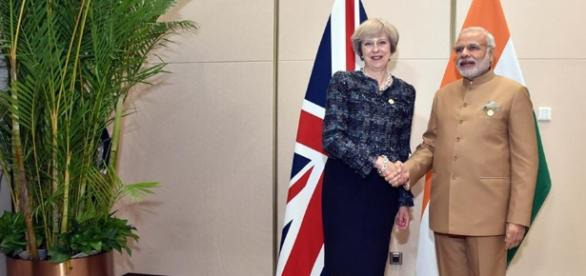 India interested in a trade deal before Brexit. (By Narendra Modi [CC BY-SA 2.0], via Wikimedia Commons)