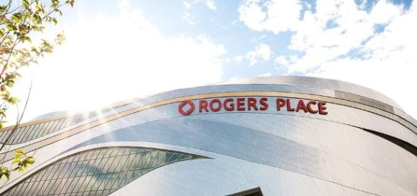 Rogers Place Arena in Edmonton (Wikimedia Commons - wikimedia.org)