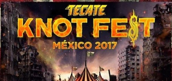 Tecate Knotfest México 2017 - Taking Back Sunday.