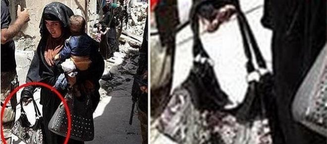 Fanatism extrem! O luptătoare ISIS se detonează împreună cu copilul din brațe