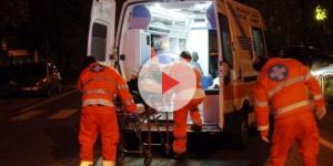 Incidente stradale per un centauro