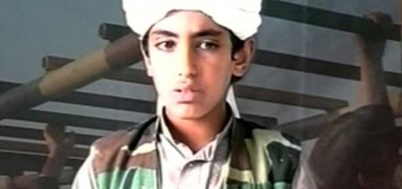Filho de Osama Bin Laden quando pequeno