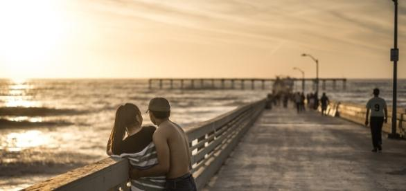 Free photo: Couple, Relationship, Pier, Sunset - Free Image on ... - pixabay.com